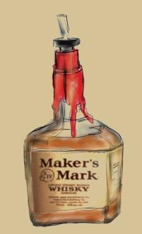 Makers Mark bottle