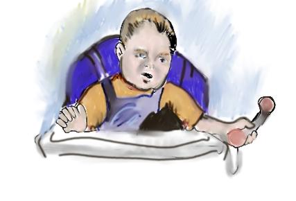 self portrait age two :-)