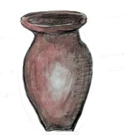 clay jar/vase